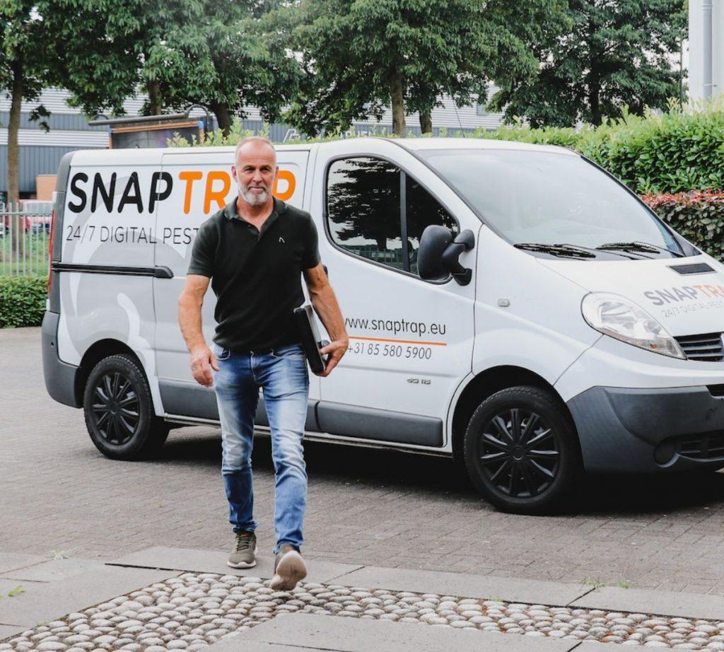 SnapTrap op bezoek